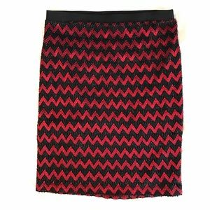 Red and Black Sunny Leigh skirt
