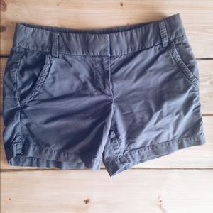 "J. Crew Pants - J. Crew Oxford Short Gray 5"""