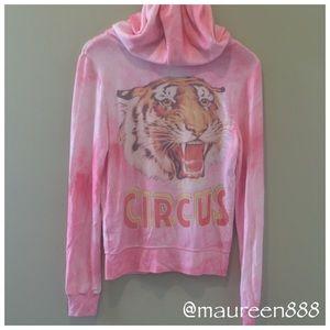 "RARE Wildfox ""Circus"" Malibu Hoodie [light purple]"