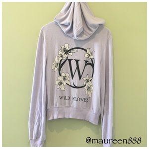 RARE! Wildfox® Wildflower Malibu Hoodie [lilac]