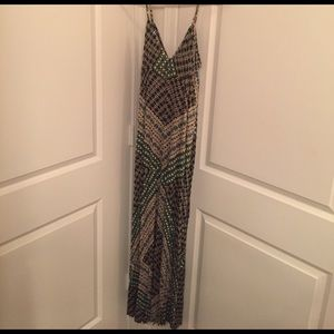 Eight Sixty Dresses & Skirts - Eight sixty patterned maxi dress