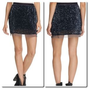 Free People Dresses & Skirts - Free People Sequin Mini Skirt