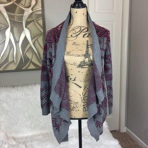 Hippie Rose Sweaters - •• Hippie Rose • Tribal Waterfall Sweater Cardigan