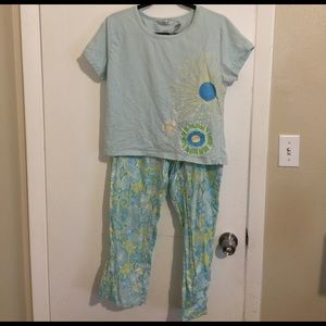 Pajama Lounge Set