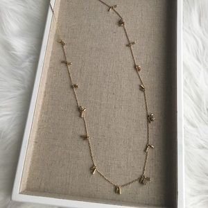 Stella & Dot Jewelry - Renegade cluster layering necklace