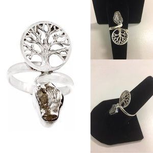 Jewelry - Sz 7 Tree of Life Campo Cielo Sterling Silver Ring