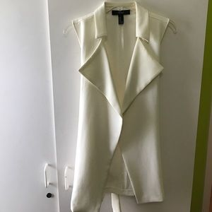 Forever 21 Sweaters - F21 off white blazer