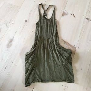 numph Dresses & Skirts - Green Viscose Dress