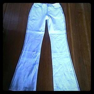 Bebe Pants - 🆕  Bebe real leather pants