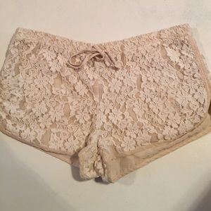 Rory Beca Pants - Rory Beca lace track style shorts. Great condition