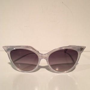 DSQUARED Accessories - Dsquared Cateye Silver Sunglasses