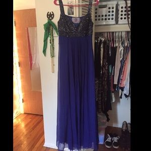 JS Collections Dresses & Skirts - JS Collections Dark Blue Formal Dress