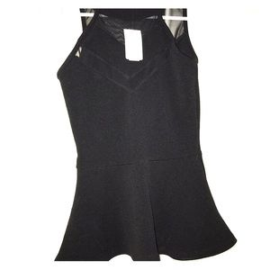 Brand new with tags peplum top