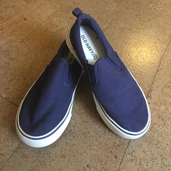 Old Navy Shoes | Boys Navy Canvas