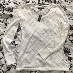 City Streets Tops - White long sleeve shirts