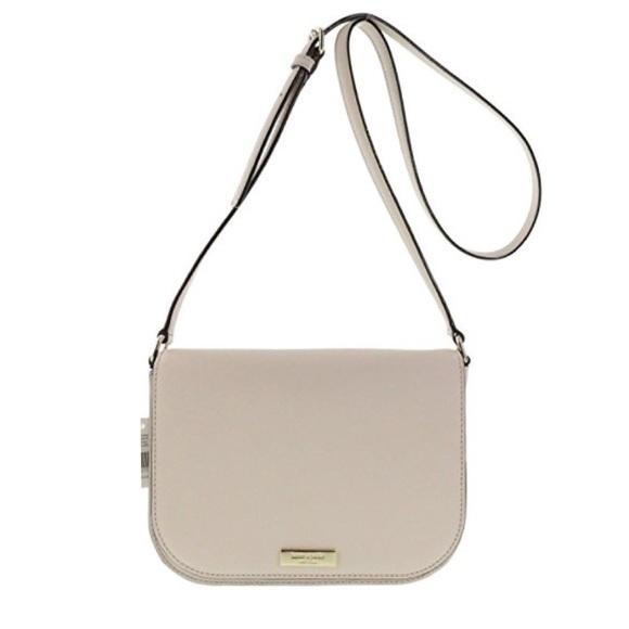 NWT $229 Kate Spade Large Carsen Laurel Way Rose Gld Crossbody Handbag