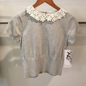kersh Tops - Short sleeve sweater. NEW WITH TAG