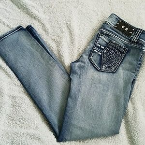 Women's Erotic Touch Low-Rise Embr.Jeans:5/6(26)