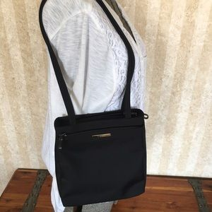 Nylon Nine West black shoulder bag
