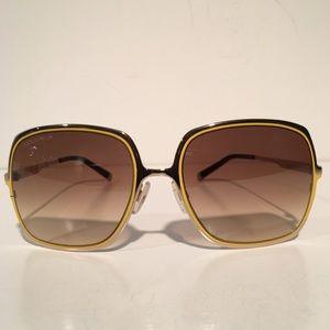 DSQUARED Accessories - Dsquared Brown Yellow Square Sunglasses