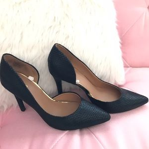 Mossimo Supply Co Shoes - Black Textured Heels