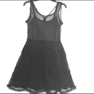 LBD American Rag Romantic Black Dress