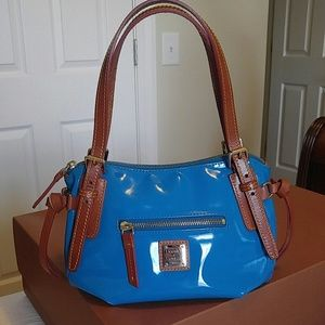 Dooney & Bourke Venus Nina parent leather bag