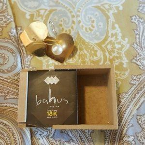 Earring women gold plated 18 k