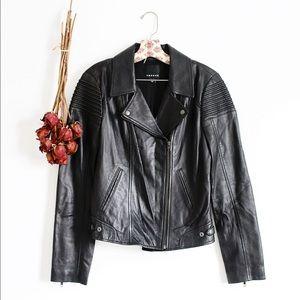 Trouve Jackets & Blazers - Trouve 100% leather moto jacket!