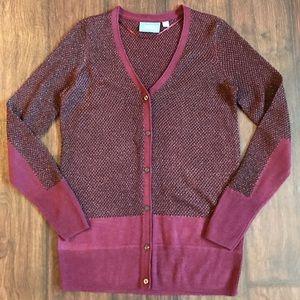 Simply Vera Vera Wang Sweaters - Simply Vera Vera Wang Button-Down Cardigan