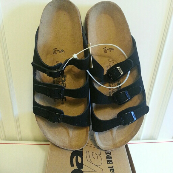 03d8bd3caf8b Birkenstock Newalk 8W Basic Wupper Black NIB