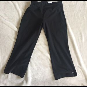Nike Pants - nike dri-fit capri size S