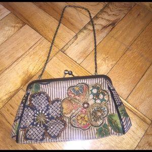 Isabella Fiore Handbags - Isabella Fiore Floral Evening Bag