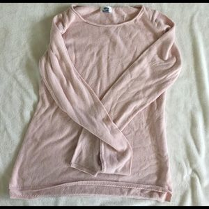 Old Navy Sweaters - beautiful light pink old navy sweater size L