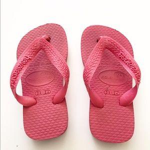 Havaianas Other - Havaiana pink flip flops