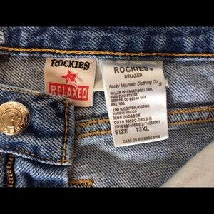 Rocky mountain Denim - Rockies Relaxed High waist mom jeans 13XL tapered