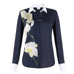 EUC Altuzarra for Target Orchid Print Shirt XS