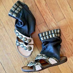 Miz Mooz Shoes - Miz Mooz Embellished Sandal Shoes