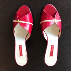 "Cesare Paciotti Shoes - Cesare Paciotti sexy red 3"" heel shoes."