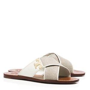 Tory Burch Shoes - 🆕Tory Burch Culver Criss Cross Slides