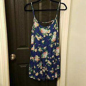 Floral Dress/Beach Cover
