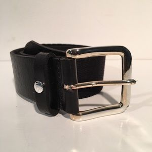 William Rast Other - William Rast Black Leather And Rope Belt