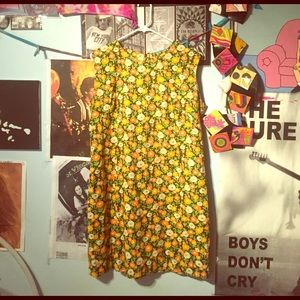 60s Vintage Floral Dress
