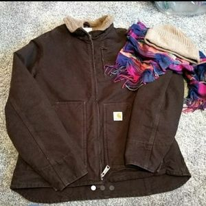 Carhartt Jackets & Blazers - Carhartt jacket /hat/scarf
