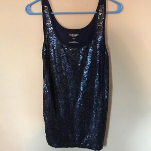 Old navy sequin tank size L