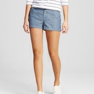 Merona Pants - Merona Chambray Shorts