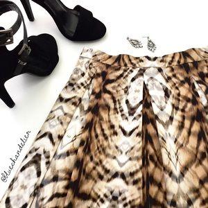 Bardot Dresses & Skirts - {nwt} bardot   leopard print skater mini skirt