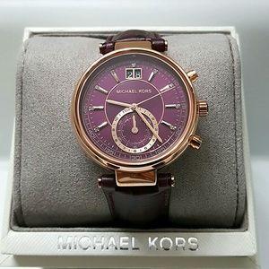 62a50acbab2b8 Michael Kors Accessories - NWT Authentic Michael Kors rose Sawyer Watch