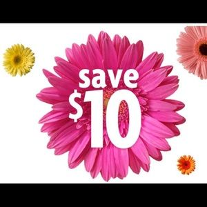 Other - 10.00 off everything over $50.00.....