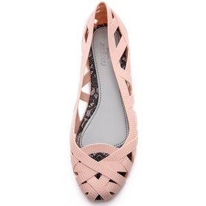 Melissa Shoes - Melissa + Jason Wu Jean Flats Pale Pink preowned 7